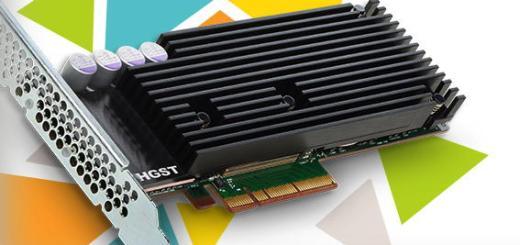 Die neuen hoch kapazitiven SSDs bringt HGST auch als Einsteckkarte