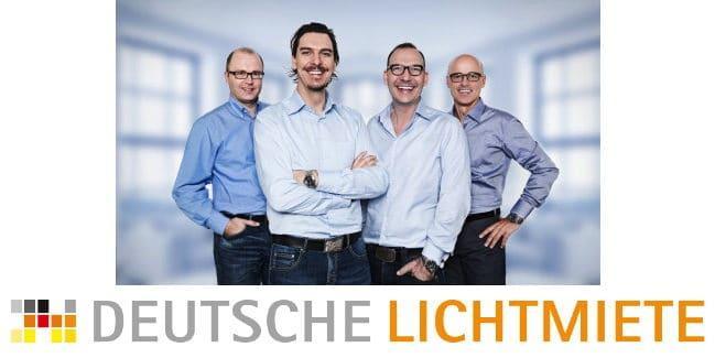 Energiesparen inklusive - die Deutsche Lichtmiete verspricht eine Reihe von Vorteilen