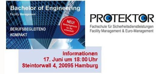 Am 17. Juni macht die Fachschule Protektor eine Informationsveranstaltung in Hamburg