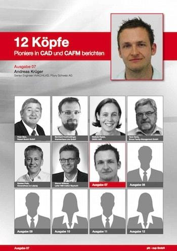 """Andreas Krüger von Pyöry Schweiz erläutert in Teil sieben der Reihe """"12 Köpfe. Pioniere in CAD und CAFM berichten"""", warum er pit-cup CAD für Großprojekte einsetzt"""