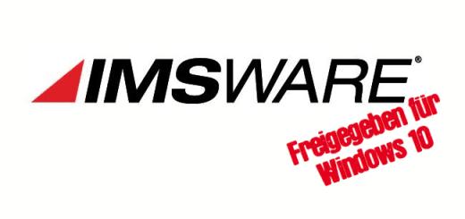 IMSWARE ist mit Release 2106 für Windows 10 freigegeben