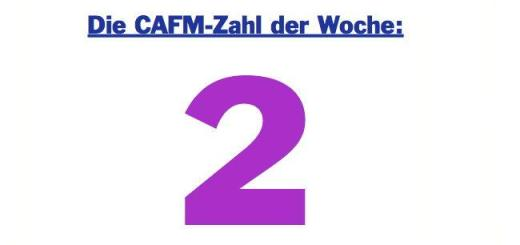 Die CAFM-Zahl der Woche ist die 2, denn 2x Edition 3 ist die aktuell genutzte IFC-Versionsnummer, die bis 2016 beim Austausch von Daten im Bauwesen verwendet werden soll