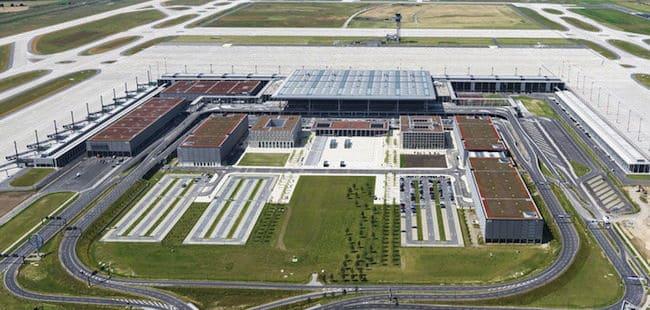 Auch der Berliner Großflughafen BER hätte von der jetzt gestarteten Initiative der Bundesregierung profitieren können - © Günter Wicker / Flughafen Berlin Brandenburg GmbH