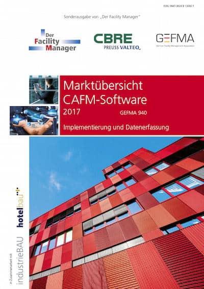 Die Marktübersicht CAFM-Software 2017 ist um einige Anbieter gewachsen