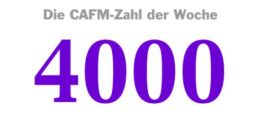 Die CAFM-Zahl der Woche ist die 4000 – für die Zahl der populärsten Suchbegriffe von Google, mit denen eine Software die Privatsspähre schützen will