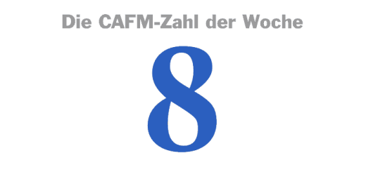 Die CAFM-Zahl der Woche ist die 8 – für die inzwischen achte Norm zum Thema Fläche, mit der uns das DIN beschert hat