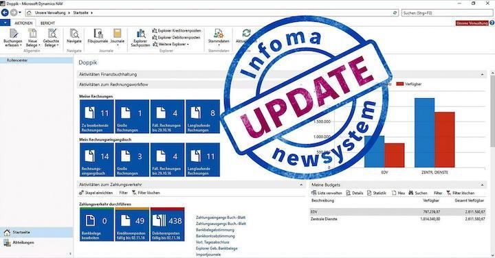 Axians Infoma stellt zur Kommunale 2017 ein Update von newsystem vor, das auch eine intelligente REG-IS Integration bietet