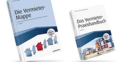 Doppelpack für die Praxis: die beiden Haufe-Ratgeber Das Vermieter Praxishandbuch und Die Vermieter-Mappe