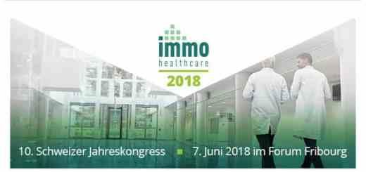 Am 7. Juni findet der 10. Immohealthcare Kongress in der Schweiz statt