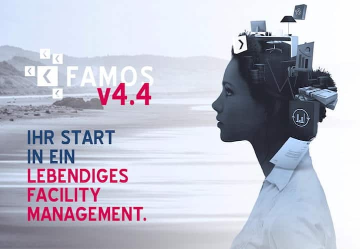 Keßler hat seine CAFM-Software Famos auf Version 4.4 upgedated