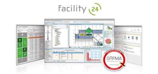Quintett komplett: Auch facility (24) ist jetzt vollständig nach GEFMA 444 mit Katalog A15 BIM-Datenverarbeitung zertifiziert