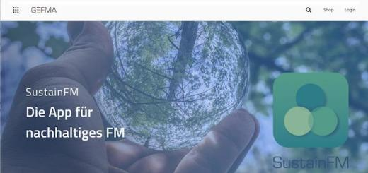 Die neue Website der GEFMA präsentiert sich sehr modern