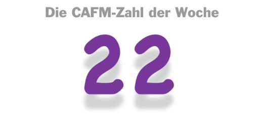 Die CAFM-Zahl der Woche ist die 22 - für die 22 Messen mit Bezug zu Facility Management, die in einem Messe-Portal gelistet sind