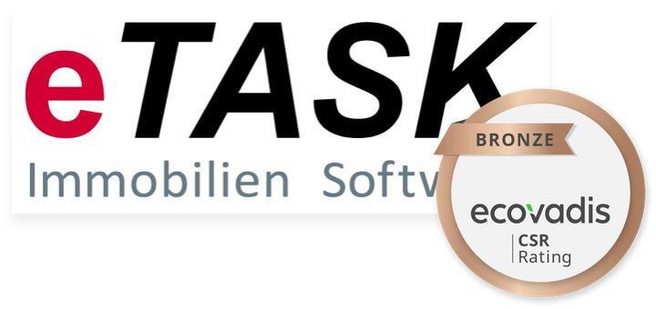 eTask hat sich für Corporate Social Responsibility zertifizieren lassen