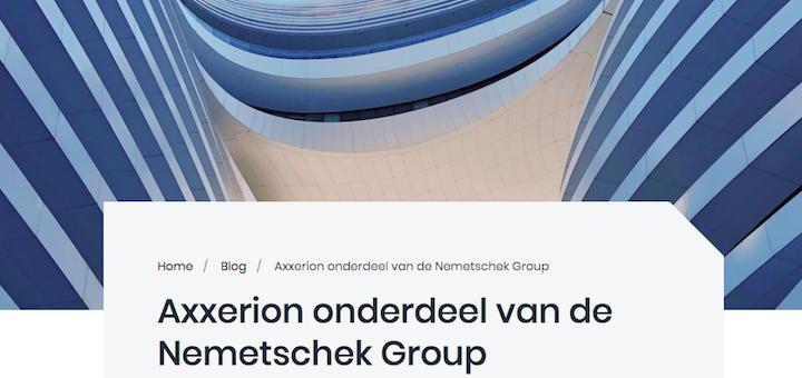 MCS hat Axxerion übernommen und damit in den Nemetschek-Konzern geholt