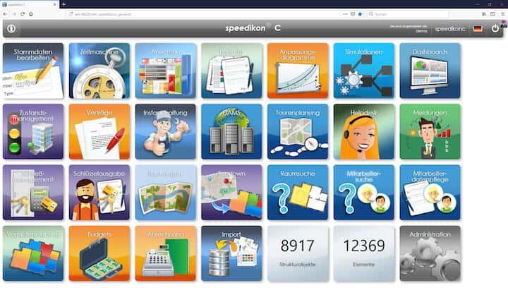 Speedikon FM hat die neue Version 5.0 seiner CAFM-Software Speedikon C vorgestellt