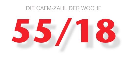 Die CAFM-Zahl der Woche ist die 55/18, ein Teil des Aktenzeichens des jüngsten EuGH Urteils zur Arbeitszeit-Erfassung