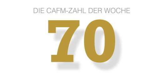 Die CAFM-Zahl der Woche ist die 70 - so viele Bußgelder wurden in Deutschland seit Einführung der DSGVO verhängt