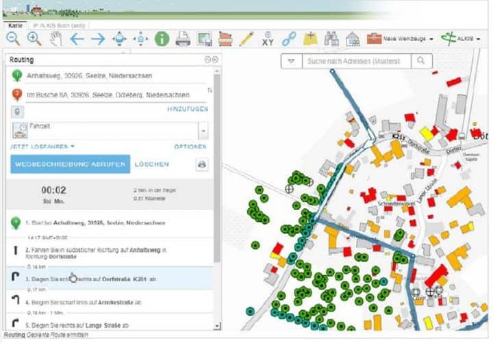 IP Syscon hat beim Update von MapSolution auf Version 19 zahlreiche Kundenwünsche berücksichtigt