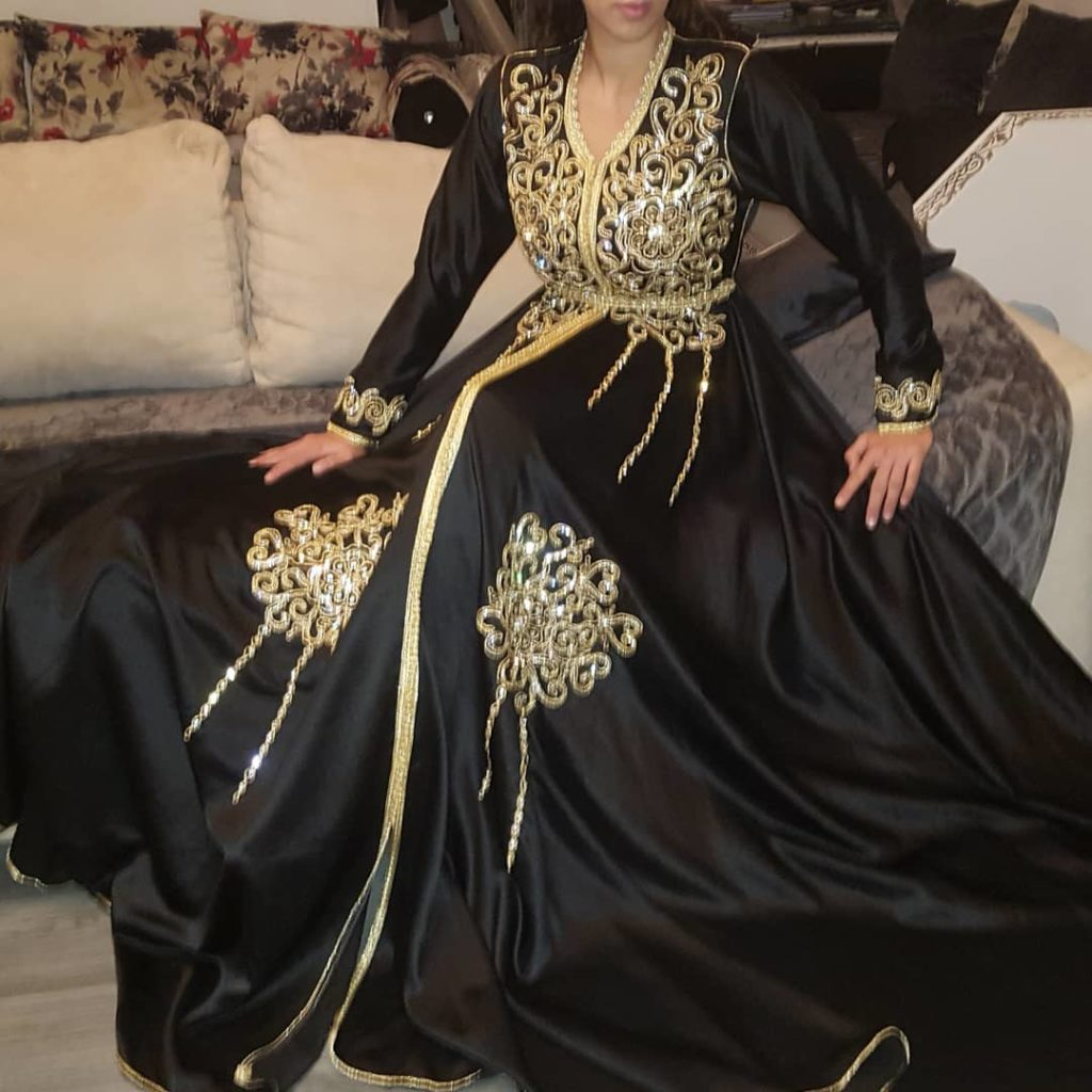 vente 2019 robe de mariée noire pour les filles