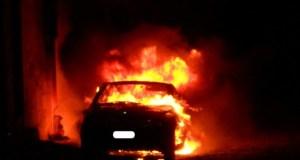 Ancora auto in fiamme a Soleminis