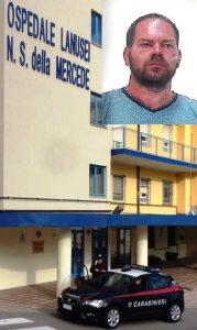 Lanusei. Arrestato 40enne russo, semina il panico per 3 giorni