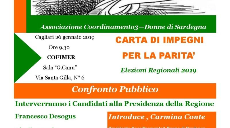 Elezioni Regionali A Cagliari Convention Carta Di Impegni Per La