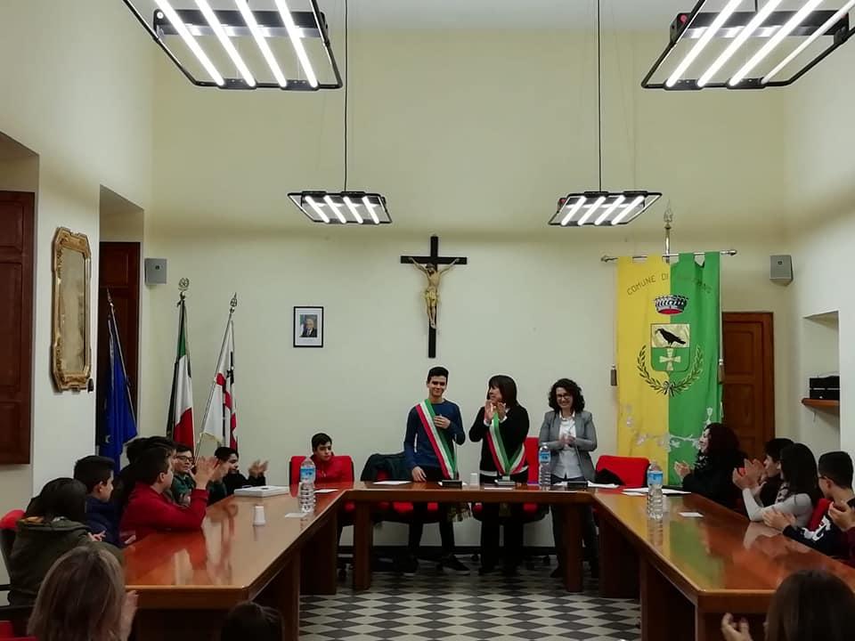 Nuraminis, si insedia il primo Consiglio Comunale dei Ragazzi