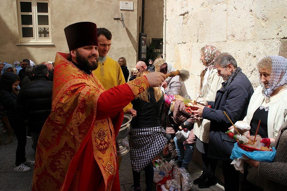 Calendario Ortodosso Rumeno 2020.Solenne Celebrazione Della Pasqua Ortodossa A Cagliari