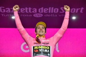 Giro d'Italia 2019, Roglic maglia rosa