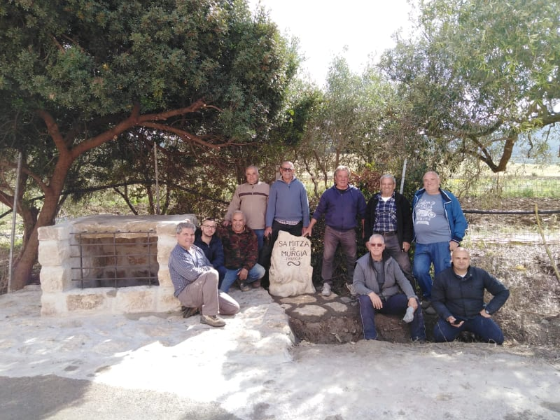 Il gruppo dei volontari
