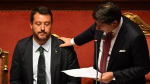 """Conte si dimette ed accusa Salvini di """"irresponsabilità istituzionale"""""""