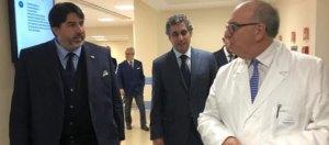 """Il Presidente Solinas visita il Mater Olbia: """"Polo d'eccellenza anche per la ricerca"""""""