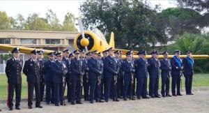 Fertilia, l'omaggio del presidente Pais all'Aeronautica Militare