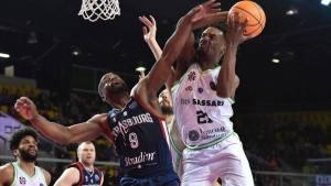 Basket Champions League – La Dinamo Sassari stacca il pass per la fase successiva