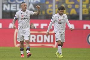Serie A – Il Cagliari ferma l'Inter a San Siro 1-1
