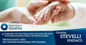 Quartu. Ai gazebo di Stevelli screening con test sierologici covid per gli over65