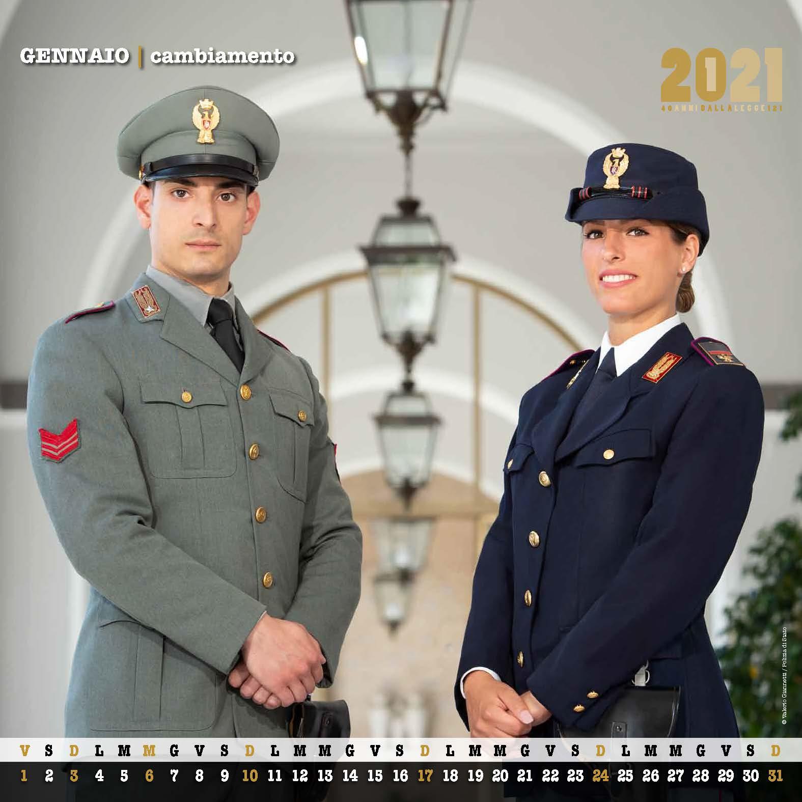 Il Calendario 2021 della Polizia di Stato   CAGLIARI POST