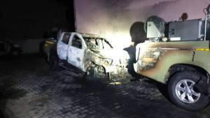Sant'Antioco. Attentato incendiario, a fuoco 3 mezzi della Forestale