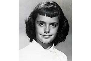 Carol Ann July, 1959. 11 years old.