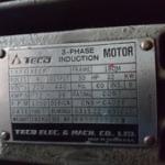 electrik motor teco