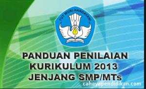 Penilaian K13 oleh Pendidik SMP Edisi Revisi 2017