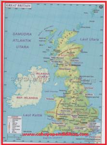 Kondisi Alam Negara Inggris