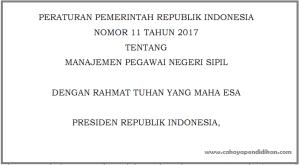 Syarat Umum CPNS Tahun 2018