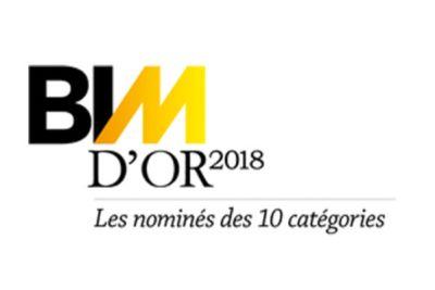 BIM d'Or 2018 - Les nominés catégorie < à 5000 m2 en neuf ou en rénovation (1/10)