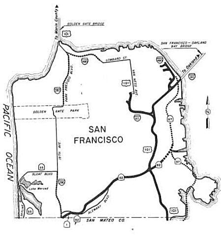 California Highways (www.cahighways.org): Routes 81 through 88