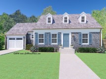 Traditional Cape Cod House Plans