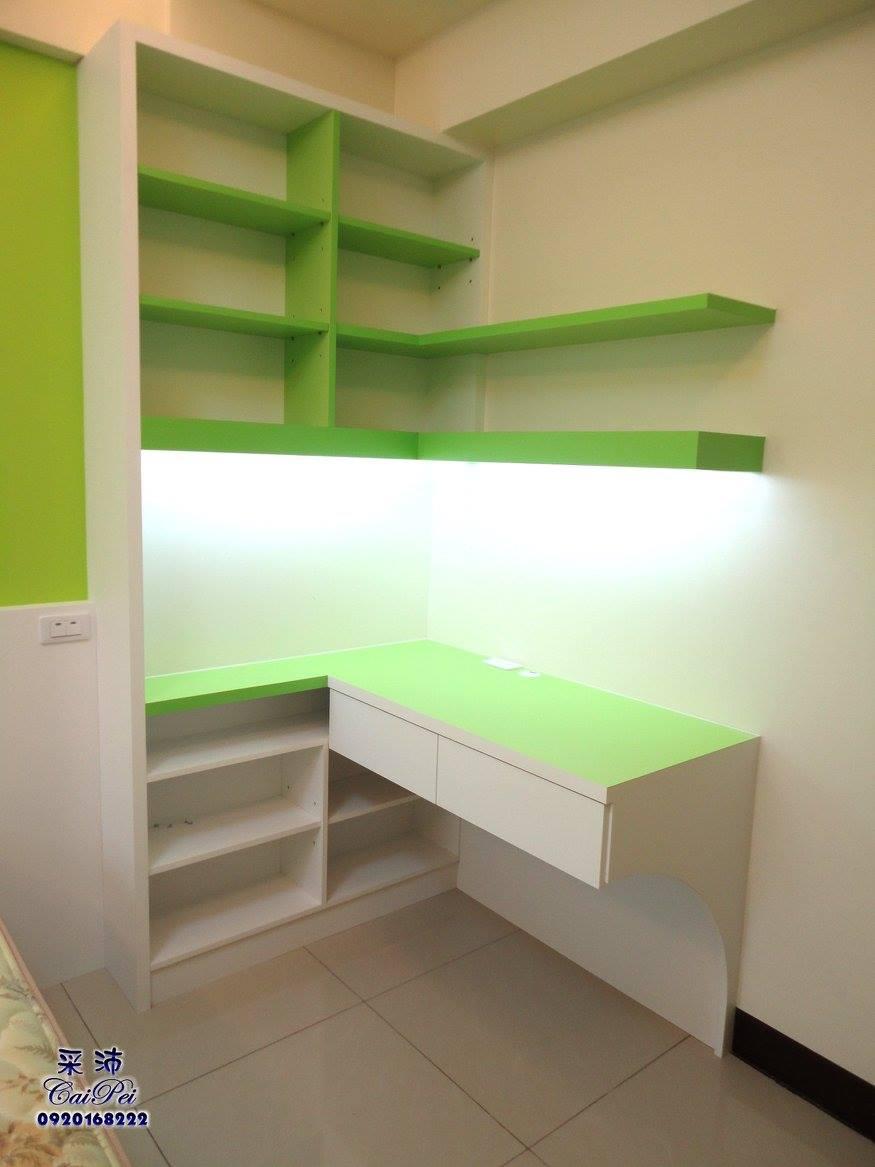3F後臥室書桌 - 采沛室內裝修整體規劃社