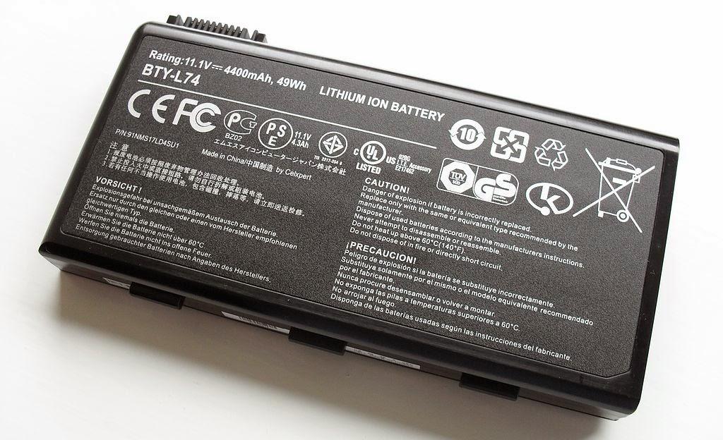 bateria laptopului
