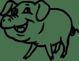 11269-illustration-of-a-cartoon-pig-pv